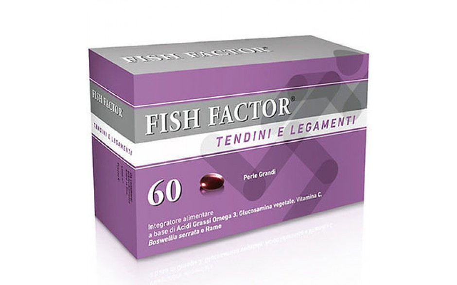 FISH FACTOR TENDINI E LEGAMENTI 60 PERLE - Farmacia 33