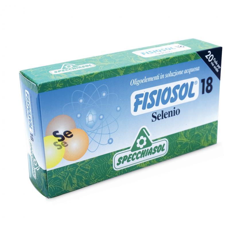 Specchiasol Fisiosol 18 Oligoelementi in Soluzione Acquosa Selenio 20 Fiale - La tua farmacia online