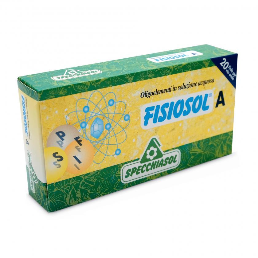 Specchiasol Fisiosol A 20 Fiale - La tua farmacia online