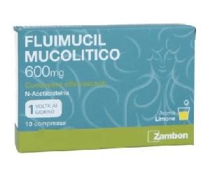 Fluimucil Mucolitico 10 Compresse Effervescenti 600 mg - Farmacia 33