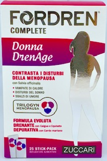 FORDREN COMPLETE DONNA DRENAGE 25 STICKPACK DA 10 ML - Farmacia 33