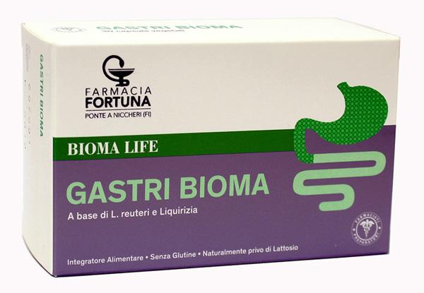 TuaFarmaOnline Gastri Bioma Integratore Alimentare Benessere Stomaco 30 Capsule - La tua farmacia online