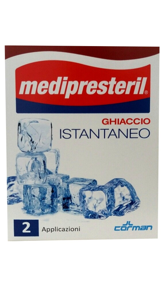 Medipresteril Ghiaccio Istantaneo 2 buste - Zfarmacia