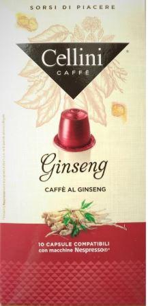 GINSENG 10 CAPSULE CELLINI - Farmacia 33