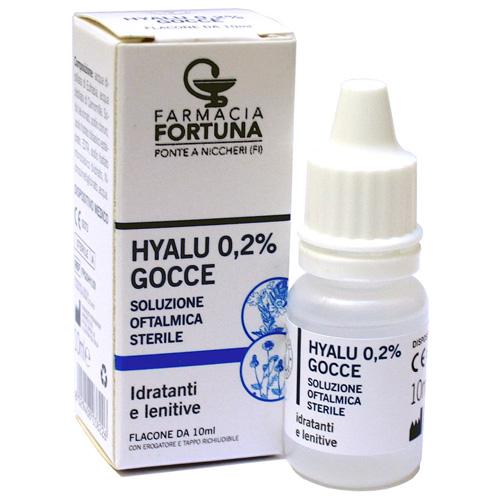 TuaFarmaOnline Gocce Oculari Hyalu 0,2% Soluzione Oftalmica Sterile 10ml - La tua farmacia online