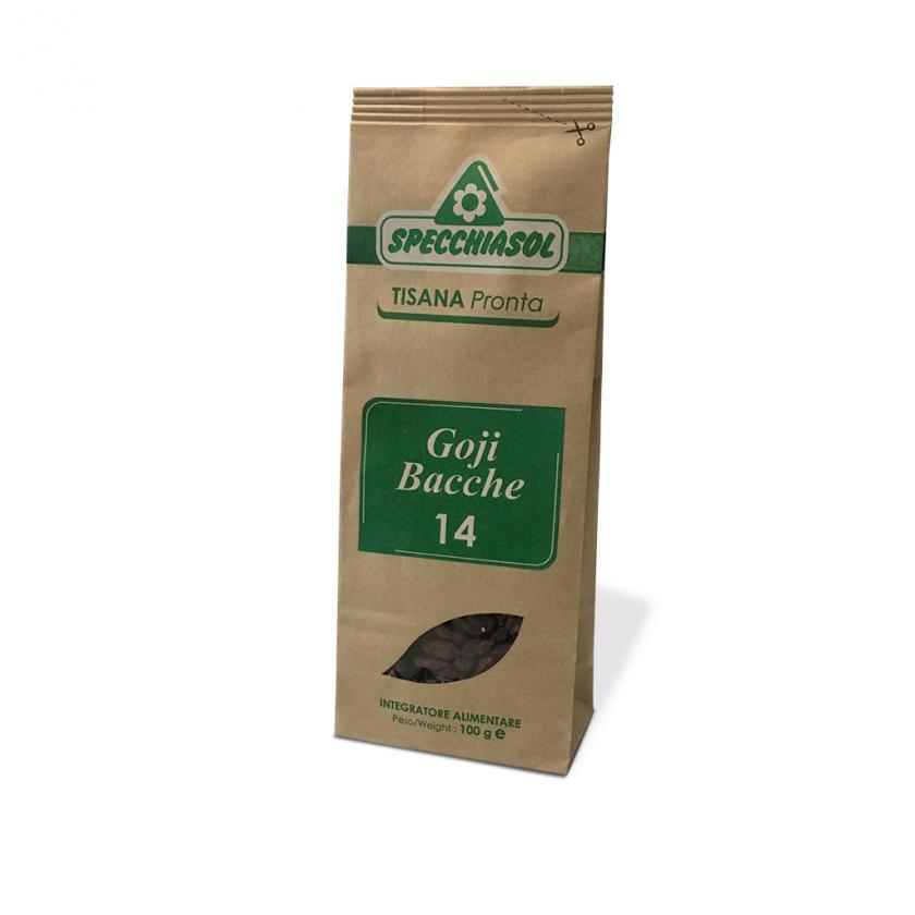 Specchiasol Bacche di Goji Tisana Pronta 100 g - La tua farmacia online