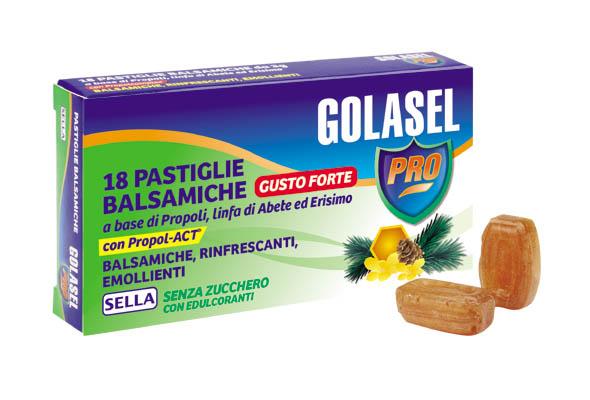 GOLASEL PRO 18 PASTIGLIE BALSAMICHE FORTE - Farmalandia