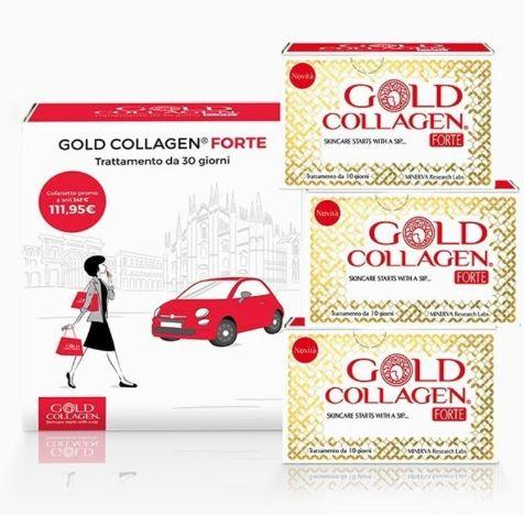 GOLD COLLAGEN FORTE TRATTAMENTO MENSILE 30 FLACONI - Farmacia 33