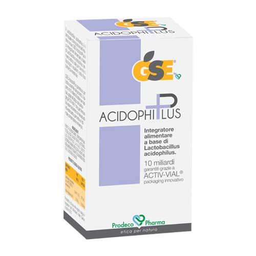 Gse Acidophiplus Integratore Alimentare Fermenti Lattici 30 Capsule  - Farmastar.it