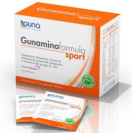 Guna Gunamino Formula Sport Integratore Alimentare 24 Bustine - Farmamille
