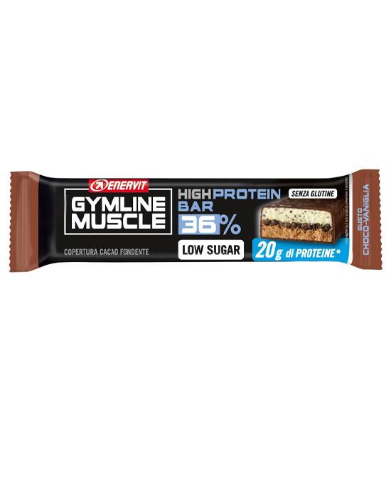 Enervit Gymline Muscle Protein Bar 36% Barretta  Choco vaniglia Senza Glutine 55 grammi - La tua farmacia online