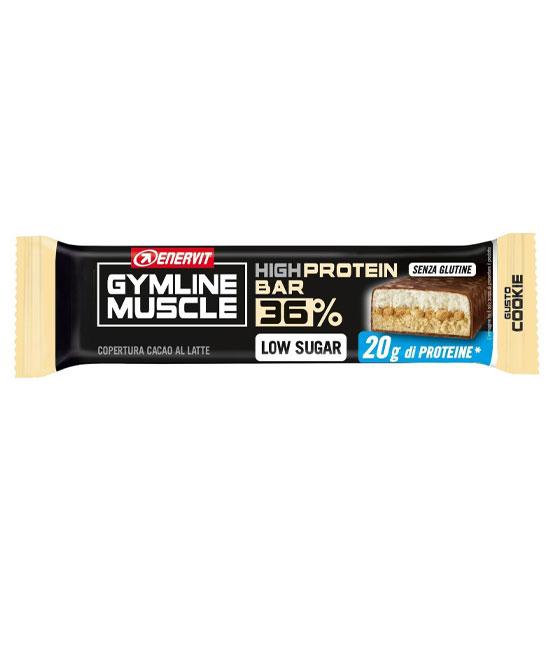 Enervit Gymline Muscle Protein Bar 36% Barretta  Cookie 55 grammi - La tua farmacia online
