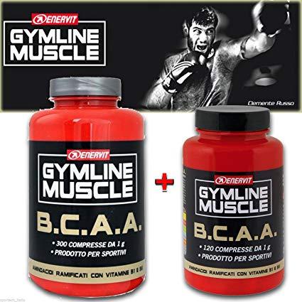GYMLINE MUSCLE BCAA 300+120 CAPSULE in omaggio - La tua farmacia online