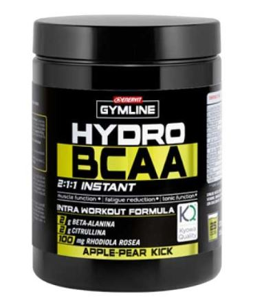 GYMLINE MUSCLE HYDRO BCAA INSTANT APPLE & PEAR POLVERE 335 G - Farmacia 33