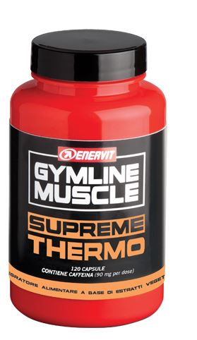 Gymline Muscle Supreme Thermo Integratore Alimentare 120 Capsule - Farmacia 33