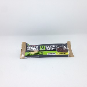 GYMLINE MUSCLE VEGETAL PROTEIN BAR CAFFE' 60 G - Farmacia 33