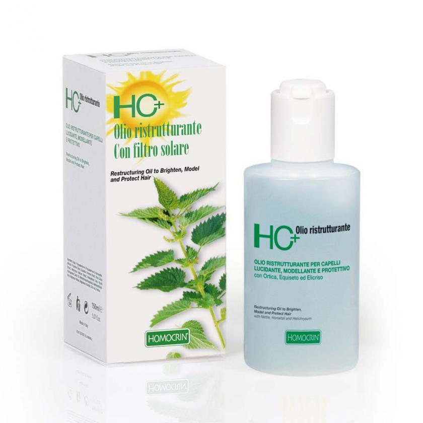 Specchiasol Homocrin olio ristrutturante con filtro solare 150 ml - La tua farmacia online