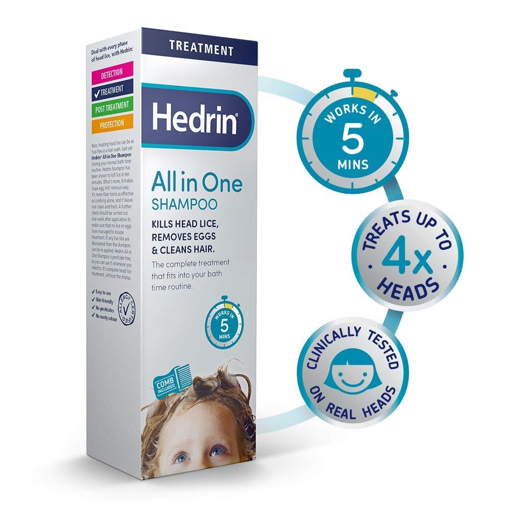 HEDRIN SHAMPOO ANTIPEDICULOSI 200 ML - La tua farmacia online