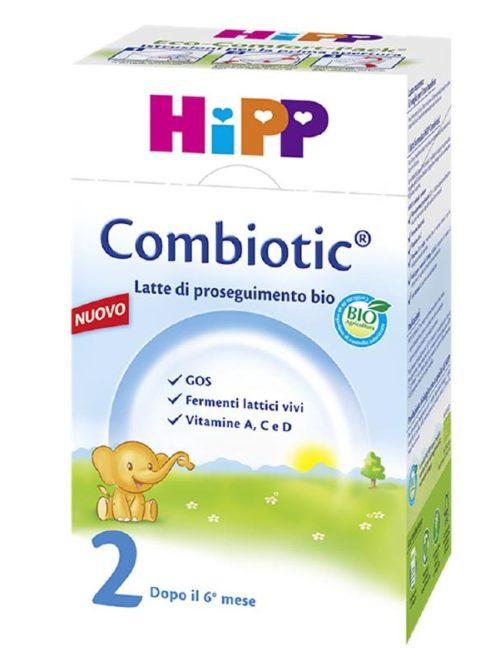 Hipp Bio Combiotic 2 Latte in Polvere 600g - Farmamille