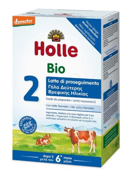 HOLLE BIO 2 LATTE PROSEGUIMENTO 300 2 PEZZI - Farmacia 33