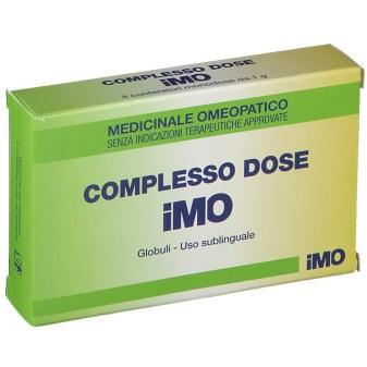 I.M.O.IST.MED. Omeopatica Complesso 4 Tubi Dose Globuli - Farmacento