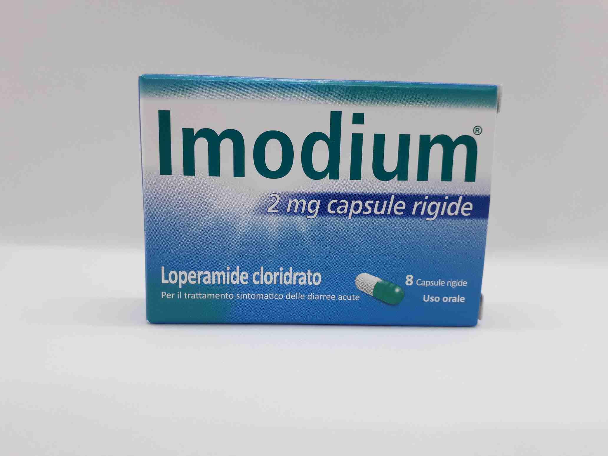IMODIUM*8CPS 2MG - Farmaciaempatica.it
