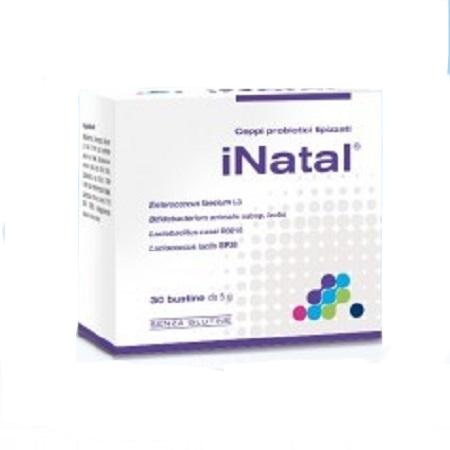 Pharmextracta Integratore Probiotici Fermenti Lattici iNatal 30 Bustine - Farmastar.it