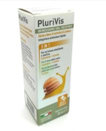 INTEGRATORE PLURIVIS SPRAY LUMACA MIELE ARANCIA 30 ML - Farmacia 33