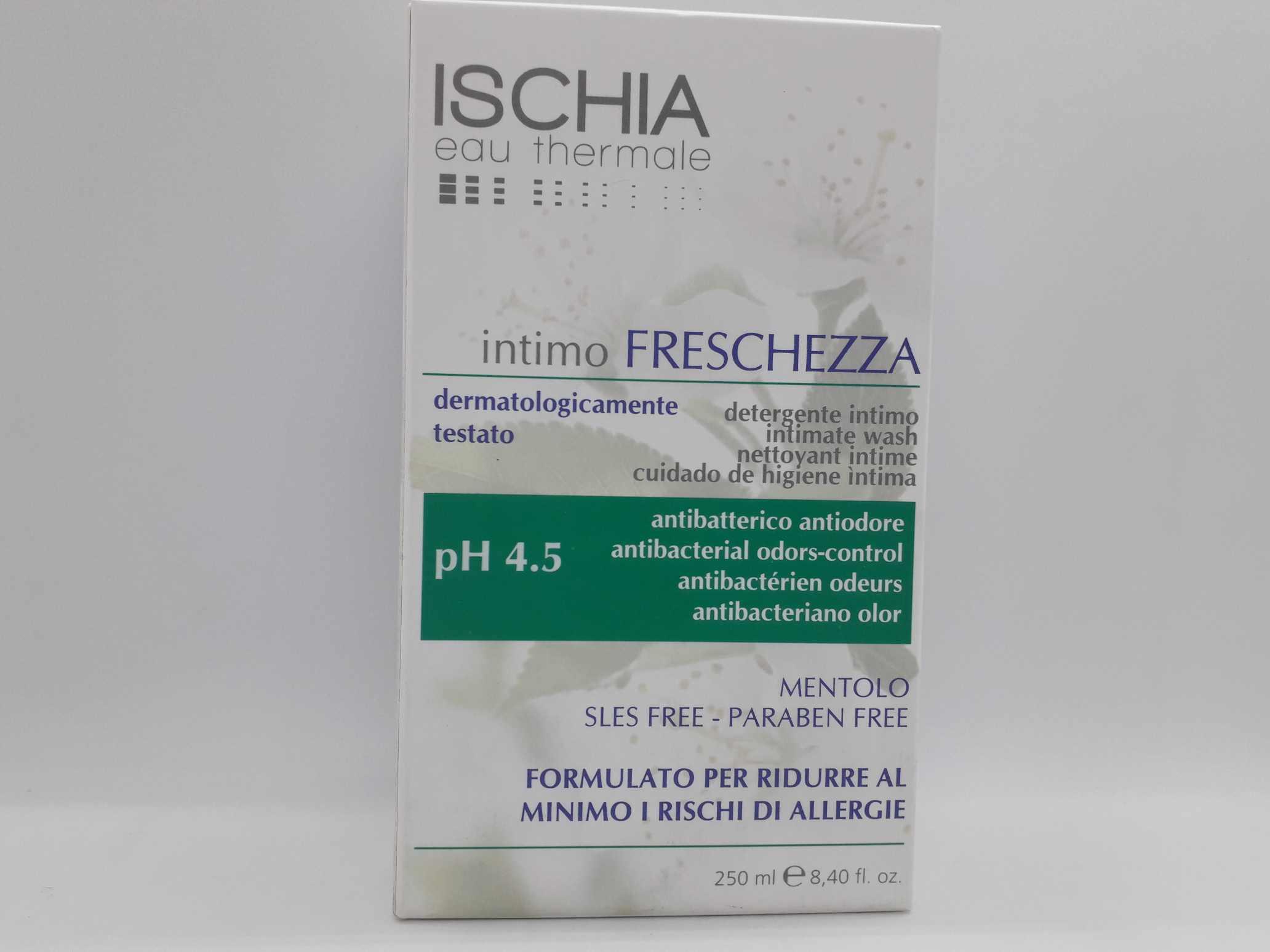 ISCHIA EAU THERMALE DETERGENTE INTIMO MENT PH 5 250 ML - Farmaciaempatica.it