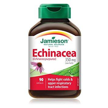JAMIESON ECHINACEA PURPUREA 90CPS - Zfarmacia