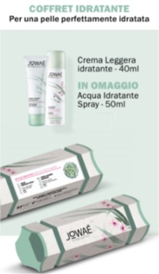 Jowar Cofanetto Crema Idratante Leggera 40 ml Omaggio Acqua Spray 50 ml - Farmastar.it