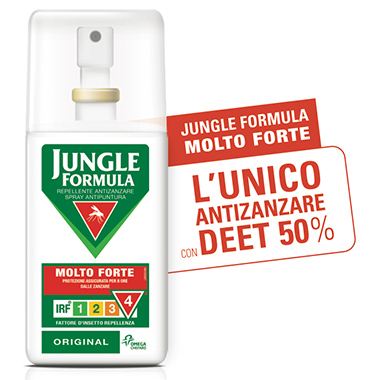 Jungle Formula Spray Anti-Zanzare Molto Forte 75 ml - La tua farmacia online