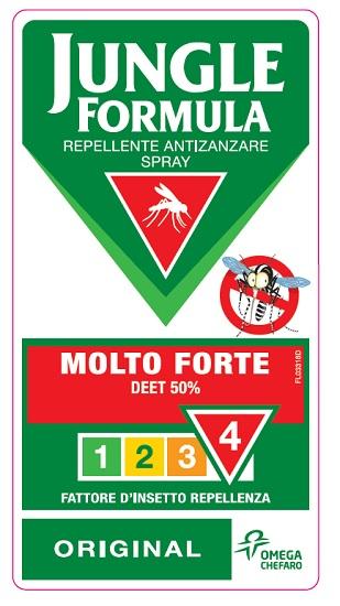 Jungle Formula Molto Forte Spray 75 ml - Farmalilla
