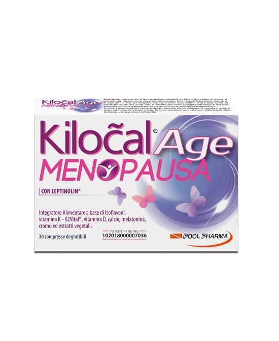 KILOCAL AGE MENOPAUSA 30 COMPRESSE - La tua farmacia online