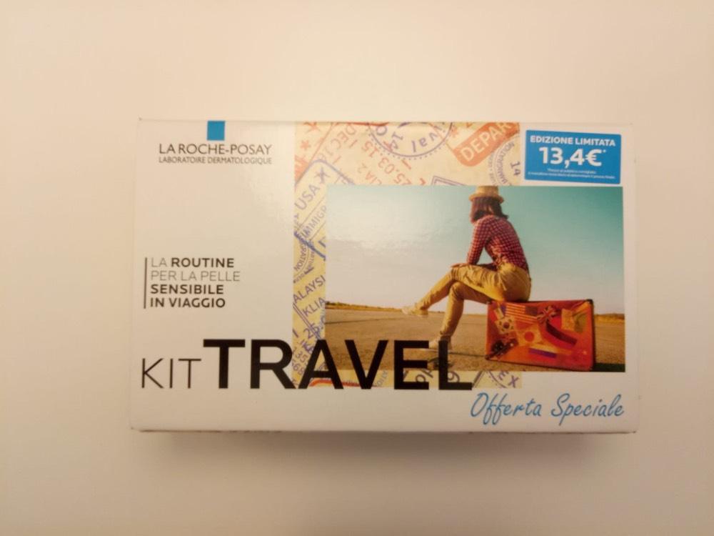 Kit Travel Acqua Micellare + Cicaplast B5 Balsamo + Lipikar Latte - Farmalilla