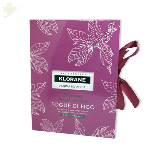KLORANE COFANETTO NAT FICO 1 LATTE CORPO 200 ML + 1 GEL DOCCIA 200 ML - Farmastar.it