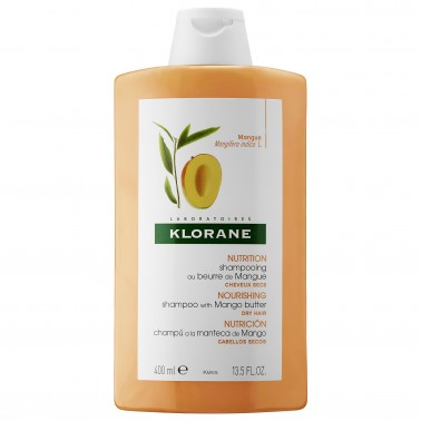 KLORANE SHAMPOO BURRO MANGO 400 ML - Farmamille