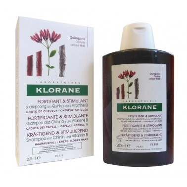 KLORANE SHAMPOO CHININA 200 ML - Farmamille