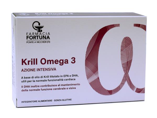 TuaFarmaOnline Krill Omega 3 Azione Intensiva 20 Capsule Softgel - La tua farmacia online