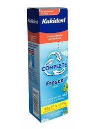 Kukident Fresh Complete Crema Adesiva Per Protesi Dentali 40g - Farmaciasconti.it