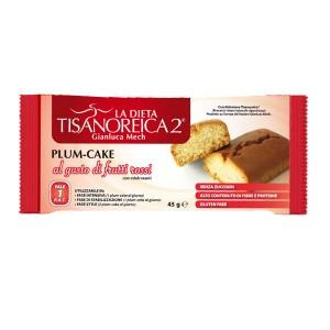 Tisanoreica Plum-Cake Gusto Frutti Rossi Prodotto Dietetico Monodose - Farmastar.it