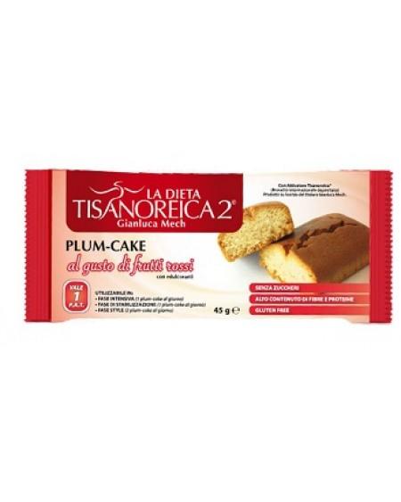 Tisanoreica Style Plum Cake Gusto Frutti Rossi 45gr - La tua farmacia online