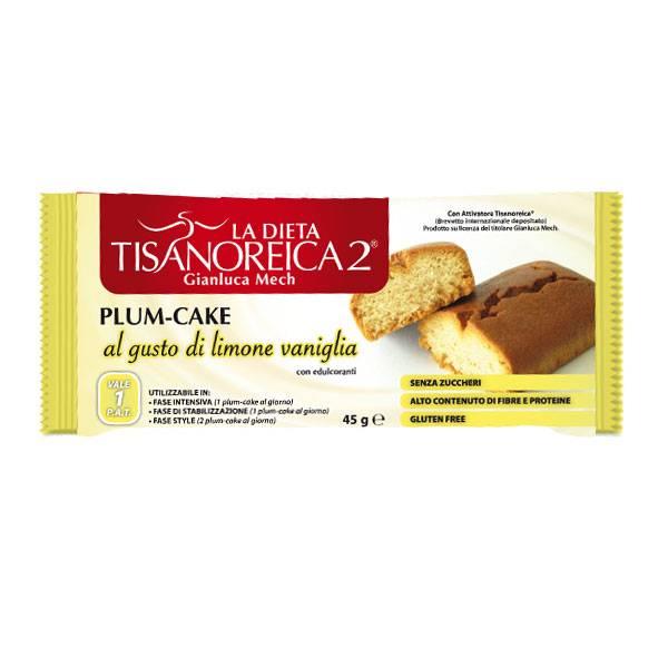 Tisanoreica Style Plum Cake Gusto Vaniglia e Limone 45gr - La tua farmacia online