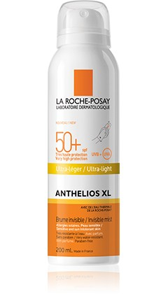 LA ROCHE-POSAY SOLARI ANTHELIOS XL SPRAY CORPO TRASPARENTE SPF 50+ 200 ML - Farmastar.it