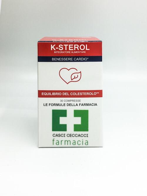 LABO24 K-STEROL 30 COMPRESSE - Farmacento