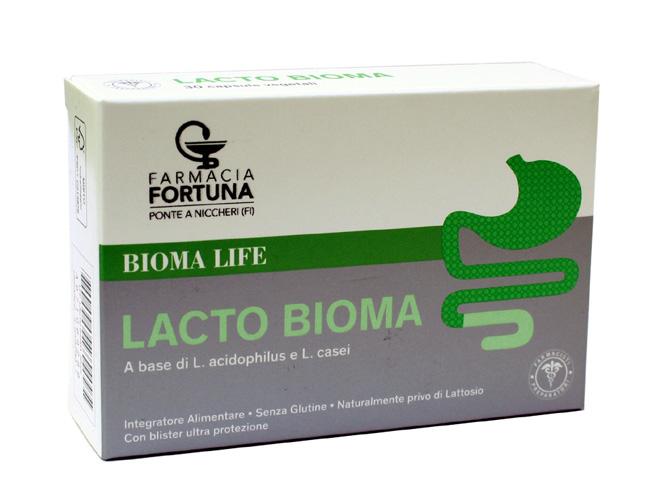 TuaFarmaOnline Lacto Bioma Integratore Lattobacilli Intestino 30 capsule - La tua farmacia online