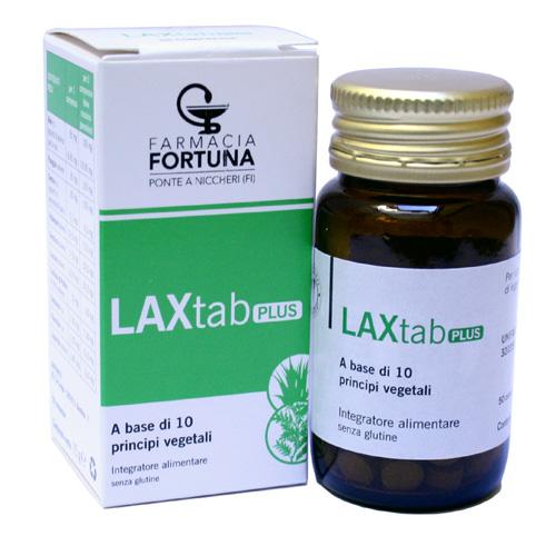 TuaFarmaonLine Laxtab Plus Integratore Regolarità Intestinale 50 Capsule 15 g - La tua farmacia online