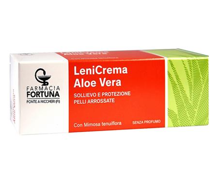 TuaFarmaOnline LeniCrema Aloe Vera Sollievo e Protezione Pelli Arrossate 100ml - La tua farmacia online