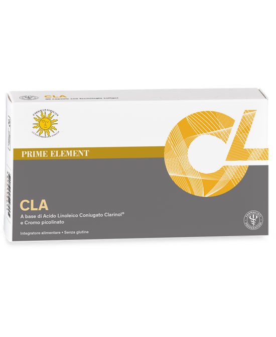 TuaFarmaOnLine CLA Integratore Alimentare Cromo 30 Capsule - La tua farmacia online