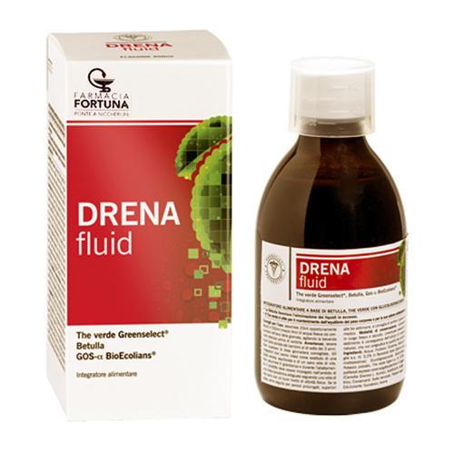 TuaFarmaonLine DRENAfluid Integratore Drenante Equilibrante Sciroppo 300 ml - La tua farmacia online